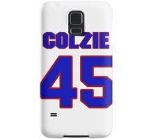 National football player Neal Colzie jersey 45 Samsung Galaxy Case/Skin