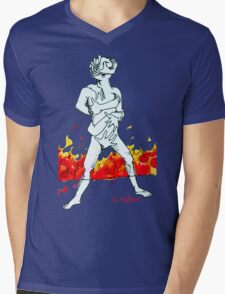 Twisted Mens V-Neck T-Shirt