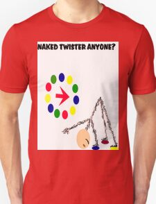 NAKED TWISTER... T-Shirt