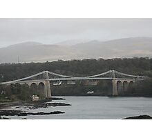 MENAI BRIDGE.  Photographic Print