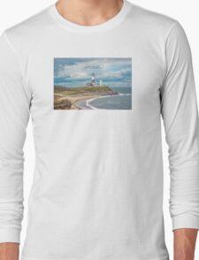 Montauk Point Light. Long Sleeve T-Shirt