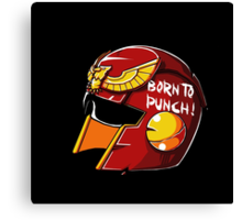 Born to Punch Canvas Print