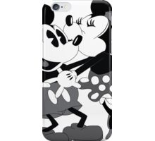 Vintage Mickey And Minnie Mouse  iPhone Case/Skin