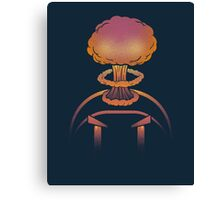 Planet Bomber Hothead Canvas Print
