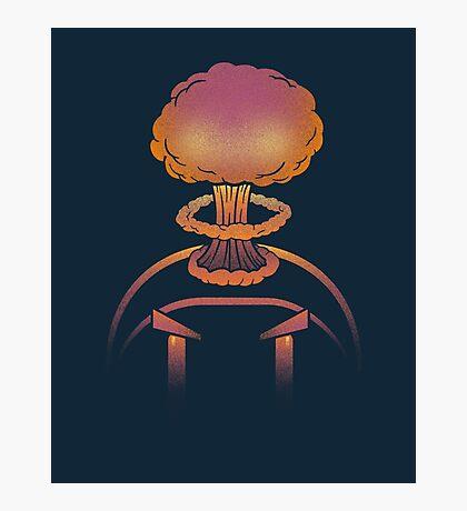 Planet Bomber Hothead Photographic Print