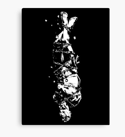The Drowning Man Canvas Print