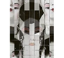 Geisha Blocks Photographic Print