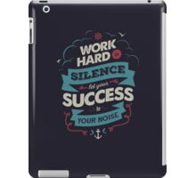 WORK HARD iPad Case/Skin