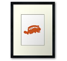 CatBus Framed Print