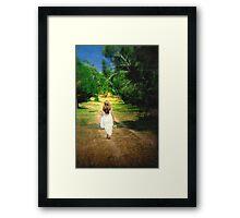 Journey... Framed Print