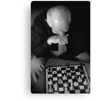 Chess Master.. Canvas Print