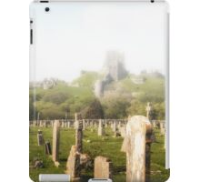 Corfe Castle in the MIst iPad Case/Skin