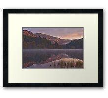 Sunrise in Glentrool Framed Print