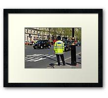 metropolitan police Framed Print