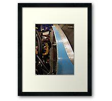 Airplane Guts Framed Print