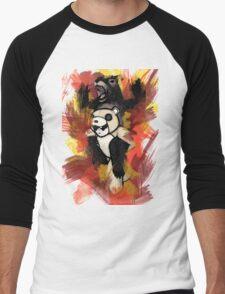 Folie á Watercolor  Men's Baseball ¾ T-Shirt