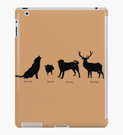 Marauders Full Body Animagus iPad Case/Skin
