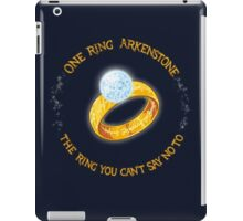 One Ring Arkenstone iPad Case/Skin
