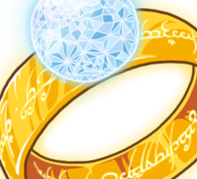 One Ring Arkenstone Sticker