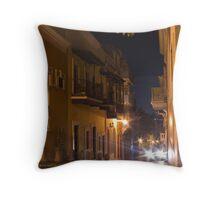 Headlights in San Juan Throw Pillow