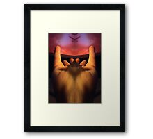 PHOTO of the HAND, AMAZING!! Framed Print