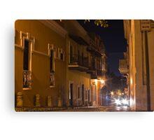 Headlights in San Juan Canvas Print