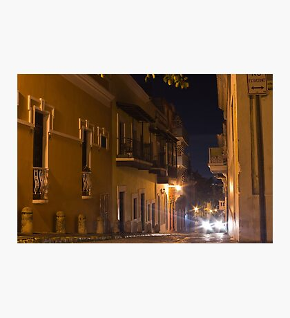 Headlights in San Juan Photographic Print