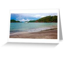 Tropical escape Greeting Card