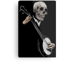 Skullboys' Banjo Blues Metal Print
