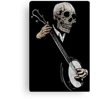 Skullboys' Banjo Blues Canvas Print