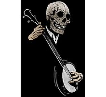 Skullboys' Banjo Blues Photographic Print