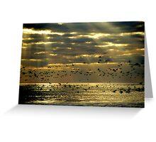 Sunrise on Ocracoke Island, North Carolina USA Greeting Card