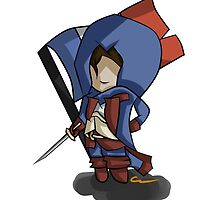 Assassins Creed Unity Draw Art by Solbessx