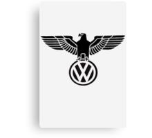 Volkswagen vintage logo Canvas Print