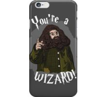 You're a Wizard! iPhone Case/Skin