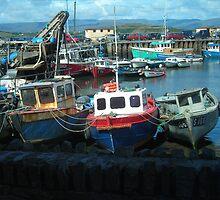 Three Boats by Cathy Klima