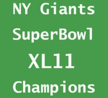 New York Giants by sholder
