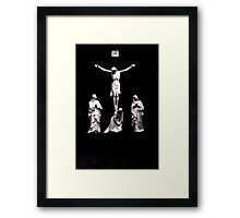 irish jesus Framed Print