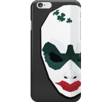 Clover - Payday 2 low poly iPhone Case/Skin
