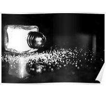 Spilled salt Poster
