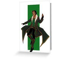 Young Avengers Loki Greeting Card