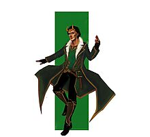 Young Avengers Loki Photographic Print