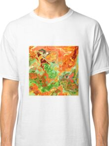 psychedelic ART, hand DRAWN bit by bit digi Classic T-Shirt
