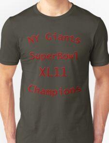 New York Giants 3 T-Shirt