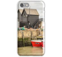 Whistable Harbour  Kent UK iPhone Case/Skin