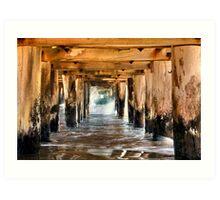 """Under The Boardwalk"" Art Print"