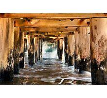 """Under The Boardwalk"" Photographic Print"