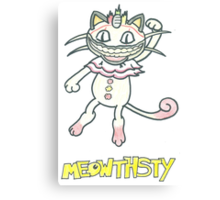 Meowthsty Canvas Print