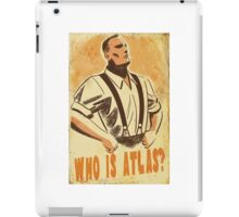 BioShock – Who is Atlas? iPad Case/Skin