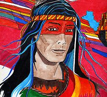 Red Rock Spirit Guide by James Peele